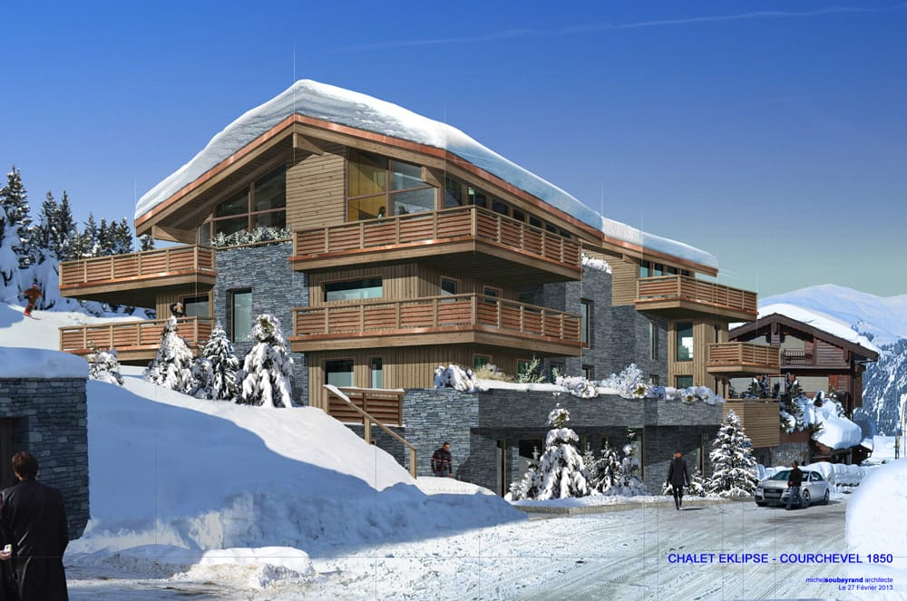 Chalet eklipse courchevel savoie ms architecte for Architecte courchevel